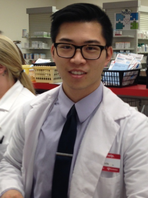 pharmacist of the week - kevin chang