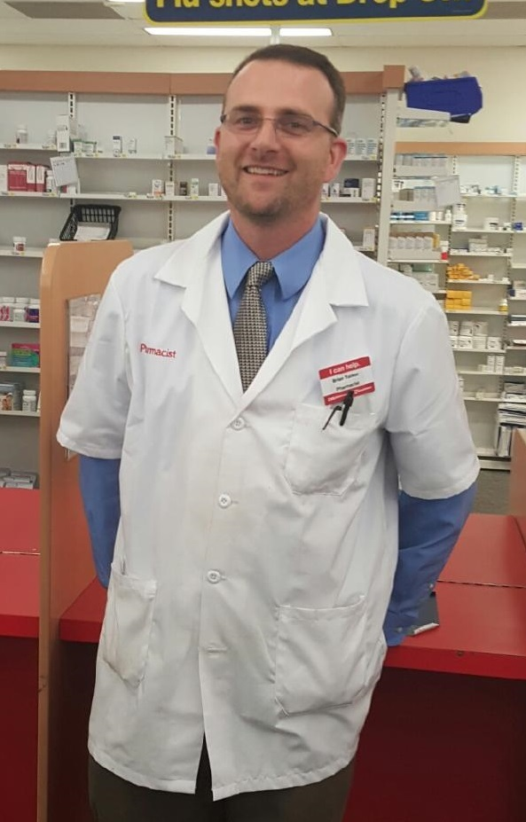 pharmacist of the week - brian tucker