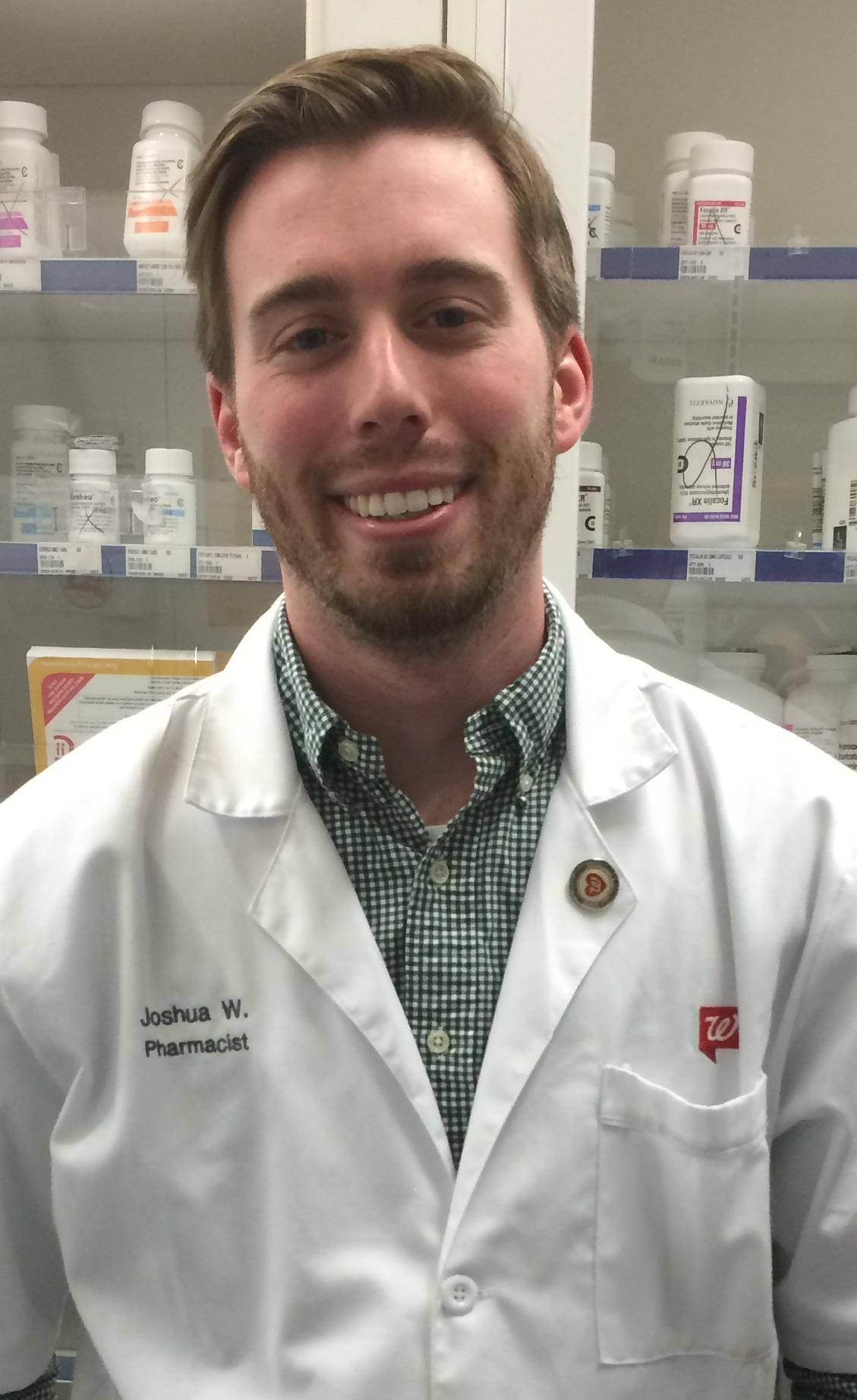 pharmacist of the week - josh weidler